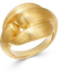 Marco Bicego - 18k Yellow Gold Lucia Ring - Lyst
