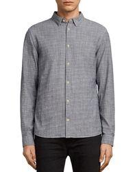 AllSaints - Dulwich Regular Fit Button-down Shirt - Lyst