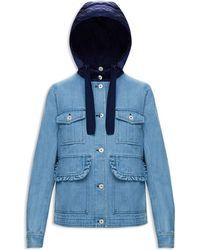 Moncler - Resinite Denim Jacket - Lyst