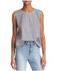 French Connection - Sardinia Stripe Top - Lyst