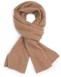Theory Cashmere Scarf - Natural