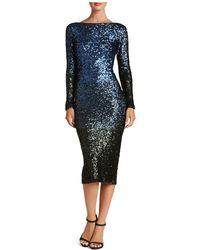 Dress the Population - Emery Ombré Sequin Dress - Lyst