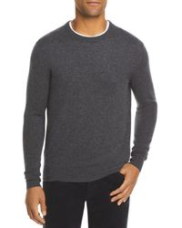 Bloomingdale's The Store At Bloomingdale's Cashmere Crewneck Sweater - Gray