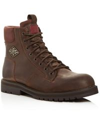 G-Star RAW G - Star Raw Men's Premium Powell Leather Boots - Brown