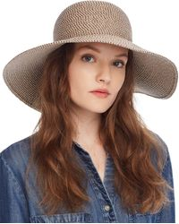 Eric Javits Hampton Straw Sun Hat - Natural