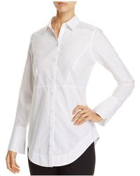 Foxcroft - Patrice Button Down Top - Lyst