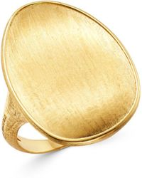 Marco Bicego - 18k Yellow Gold Lunaria Ring - Lyst