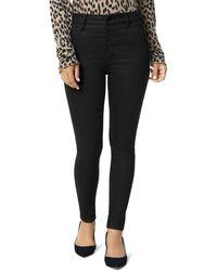 Joe's Jeans The Hi Honey Skinny Jeans In Shimmer Plaid - Black
