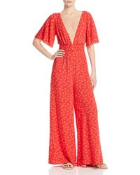 f1787f142fa9 Finders Keepers The Someday Jumpsuit - Dark Navy in White - Lyst