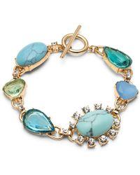 Carolee - Multi Stone Bracelet - Lyst