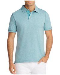 Surfside Supply - Spacedye Slub Polo Shirt - Lyst