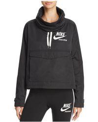 2a7a28b1aece Nike - Archive Logo Windbreaker Jacket - Lyst
