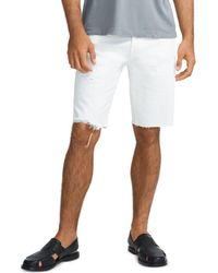 J Brand Eli Slim Fit Cutoff Shorts - White