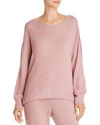 Josie Bella Lounge Sweatshirt - Pink