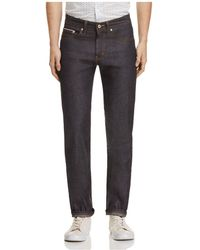 Naked & Famous - Weird Guy Slim Fit Jeans In Indigo - Lyst