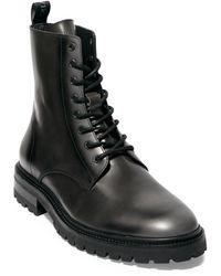 AllSaints - Tobias Lace Up Boots - Lyst