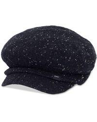 Echo Newsboy Cap - Black