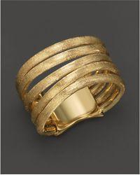 Marco Bicego - 5 Strand Jaipur Gold Ring - Lyst