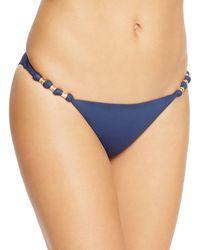 ViX Midnight Paula Bikini Bottom - Blue