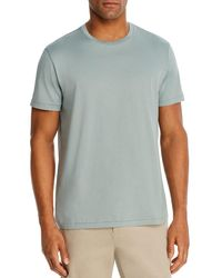 Bloomingdale's Pima Cotton Crewneck Tee - Green