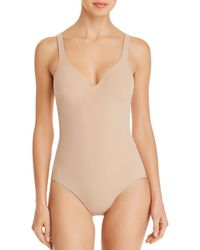 Wacoal Slenderness All-in-one Bodysuit - Natural