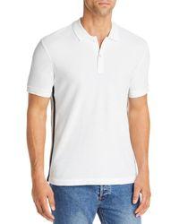 ATM Classic Pique Regular Fit Polo Shirt - White