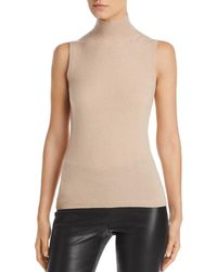 C By Bloomingdale's Sleeveless Cashmere Sweater - Multicolor