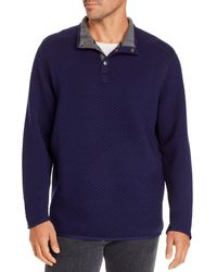 Tommy Bahama Quilted Sweatshirt - Blue