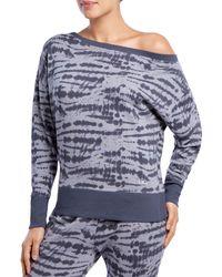 2xist - Off-the-shoulder Sweatshirt - Lyst