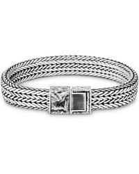 John Hardy Sterling Silver Classic Chain Bracelet - Metallic
