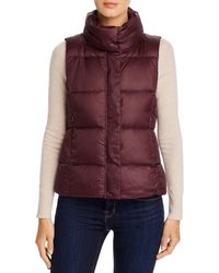 Eileen Fisher Down Puffer Vest - Multicolor