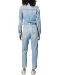 Joe's Jeans The Alexa Denim Jumpsuit In Tatra - Blue
