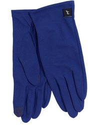 Echo Solid Summer Gloves - Blue