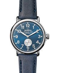 Shinola The Runwell Watch - Blue