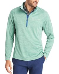 Vineyard Vines New Sankaty 1/2-zip Pullover - Green