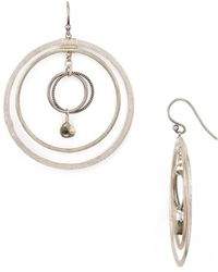 Chan Luu - Circle Earrings - Lyst