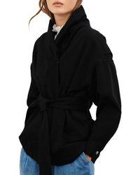 Ba&sh Lost Belted Jacket - Black