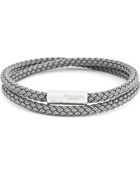 Tateossian - Rubber Cable Bracelet - Lyst
