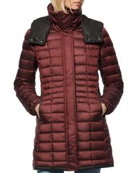 Marc New York - Marble Puffer Coat - Lyst