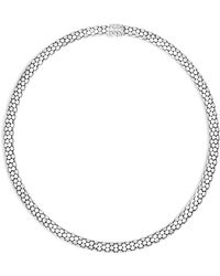 "John Hardy - Sterling Silver Dot Small Chain Necklace, 18"" - Lyst"