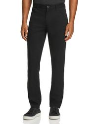 Michael Kors Parker Five - Pocket Stretch Straight Fit Trousers - Black