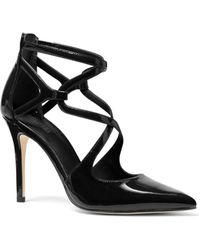 20d1fc6494c MICHAEL Michael Kors Clarissa Caged Platform High Heel Sandals in ...