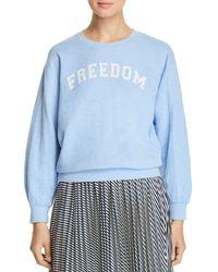 Mkt Studio Soliste Graphic Sweatshirt - Blue