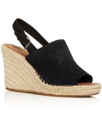 TOMS Monica Slingback Wedge - Black