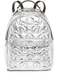 Furla - Favola Star-quilted Leather Backpack - Lyst