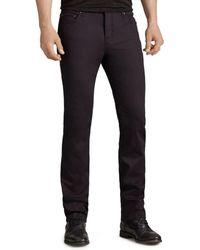 John Varvatos Woodward Slim Fit Jeans In Black