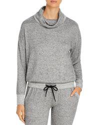 Marc New York Performance Funnel Neck Sweatshirt - Grey