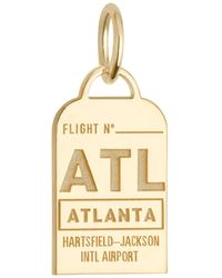 Jet Set Candy | Georgia Atl Luggage Tag Charm | Lyst