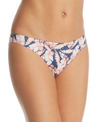 Eberjey - Banana Leaf Annia Bikini Bottom - Lyst