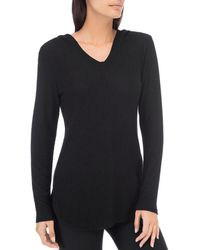 B Collection By Bobeau - Hoodie Top - Lyst